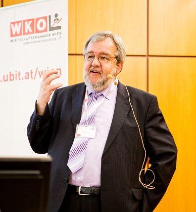 Vortrag von Ing. Friedrich Szukitsch beim Club IT der Fachgruppe UBIT am 7.4.2014
