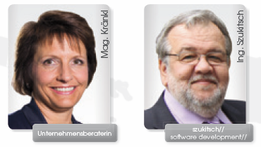 Mag. Kathrin Kränkl und Ing. Friedrich Szukitsch