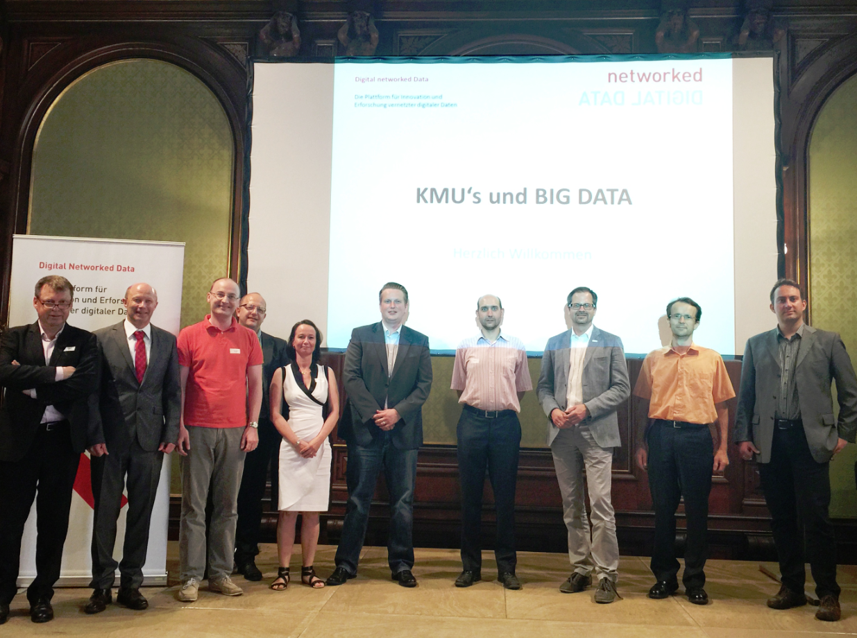 Digital networked Data - KMUs und Big Data 8.6.2015