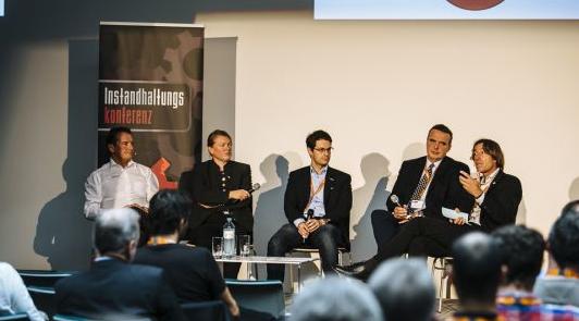 Podiumsdiskussion bei der Instandhaltungskonferenz 2015
