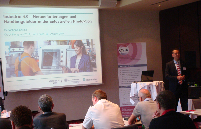 Vortrag von Sebastian Schlund beim ÖVIA-Kongress 2014