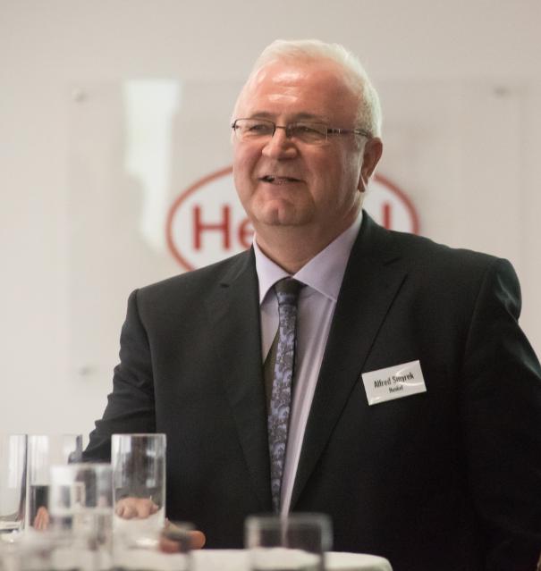 Alfred Smyrek, Werksleiter Wien, Henkel Central Eastern Europe