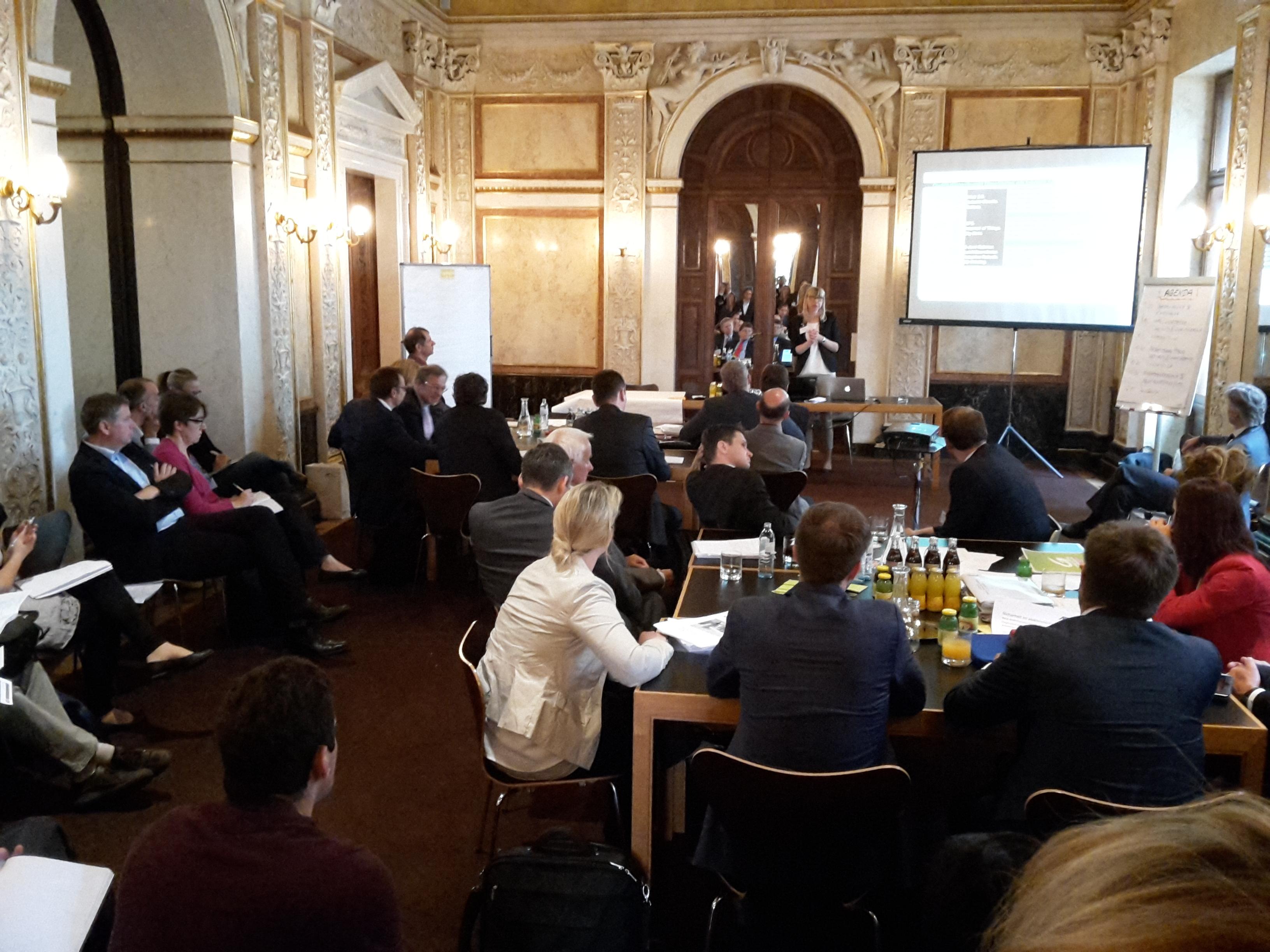 """Workshop """"Zukünftige Herausforderungen von Industrie 4.0"""" im Palais Epstein"""